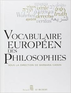 Omslagsbilde Vocabulaire Europeen