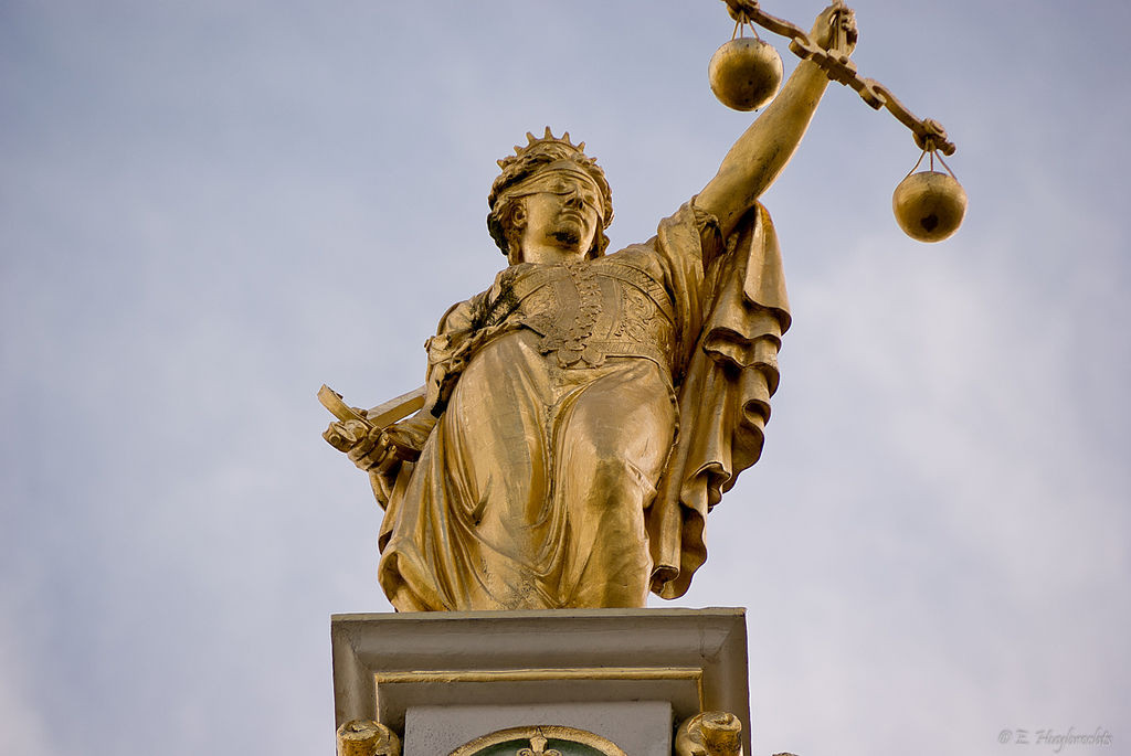 Justitia (Kilde: Wikimedia Commons)