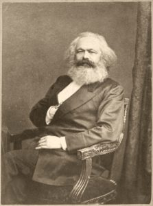 Karl Marx. Kilde: Wikimedia Commons.