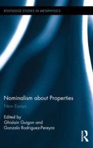 Nominalism about Properties av Ghislain Guigon og Gonzalo Rodriguez-Pereyra (red.). Routledge, 2015.