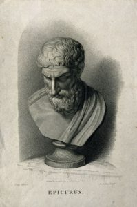 Epicurus._Stipple_engraving_by_A._Cardon,_1813,_after_Craig._Wellcome_V0001778