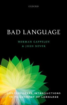 "Illustrasjon av boka ""Bad language"""
